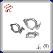 Collier de serrage sanitaire en acier inoxydable