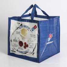 bolso de compras tejido plegable del bolso, bolso del regalo