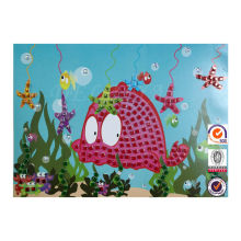 Hot wholesale toy DIY mosaic art,Mosaic sticker