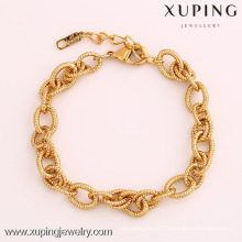 72064 Xuping Fashion Woman Bracelet with Gold Plated