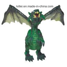 Маленькие пластиковые игрушечные драконы