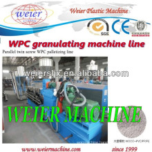 CE WPC pelletizing Extruder / Parallel Twin screw extruders