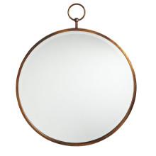 Горячие продаж Античная золото круглая Рамка зеркало Настенное Зеркало для мода украшения дома