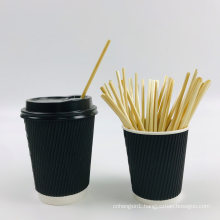 Natural Wheat Drinking Straws Biodegradable, Eco Disposable Straw for Tea
