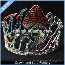 Kundenspezifische billige Geburtstag Prinzessin König Krone Tiara