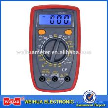 Multímetro digital DT33C com teste de temperatura de luz de fundo