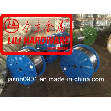 Fil en acier / fil de zinc / fil de chaleur d'huile / fil de sphéroïdisation