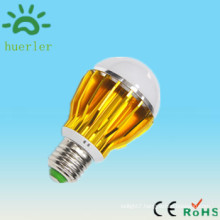 china alibaba online selling warm white frosted glass 5w led bulb lamp e27 b22