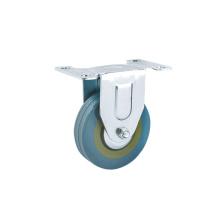 3 inch Grey Rubber Caster Wheels