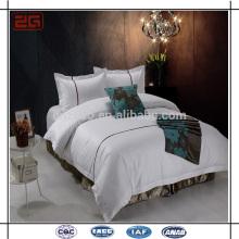 Venda Por Atacado Fábrica De Venda Directa Embroidery Pillowcase Duvet Cover Hotel Bedding Set