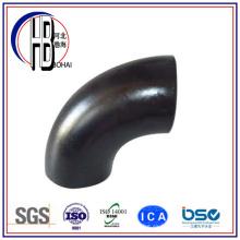 Acero al Carbono 90 Codo largo Codo Soldadura Montaje de tubería