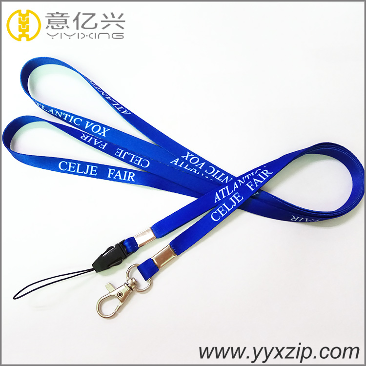custom printing badge lanyard