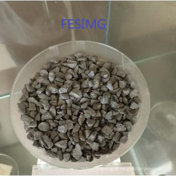 nodoso ferro nodoso Nodulizer do silicone da liga ferro de FeSiMg para a carcaça e a fundição do ferro