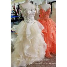 2017 Vestido romántico del baile de fin de curso del diseño, evening gownED527