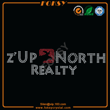 Z'Up North Realtyラインストーンパッチ
