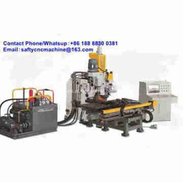 Máquina de perfuração e marcação de chapa de aço CNC