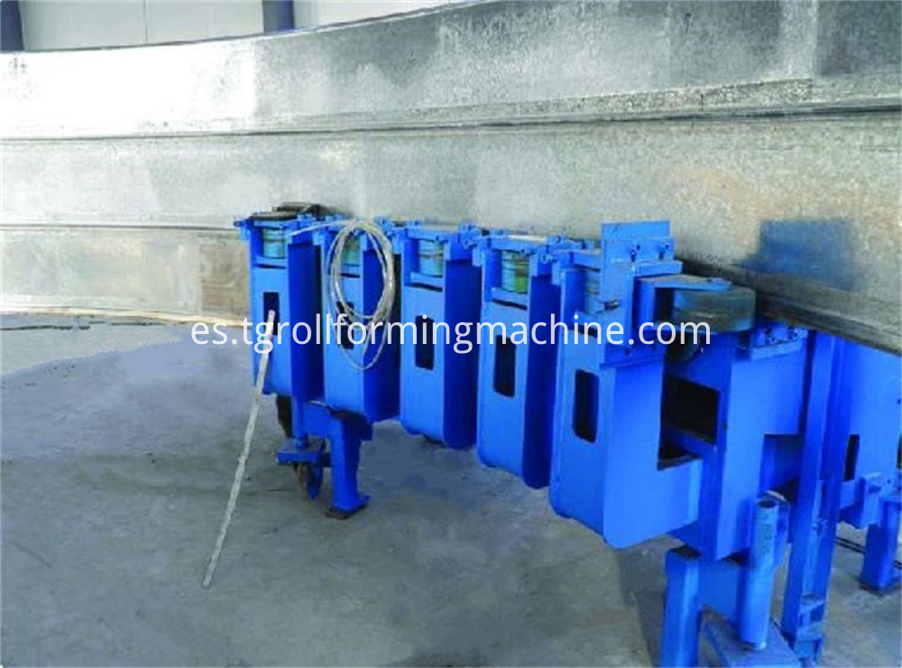 Spiral Grain Bin Silo Machine