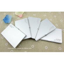 Aluminium Visitenkartenetui, Mode Design Aluminium Visitenkartenhalter