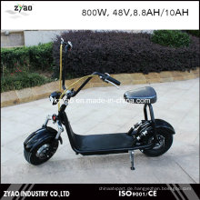 2-Rad-Elektro-Motorrad mit LED-Leuchten Coco City Electric Scooter