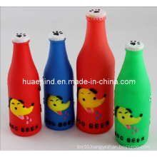 Dog Squeaky Beer Bottle Toy, Pet Toy