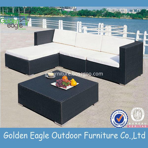 Outdoor Garden Rattan Sofa Sets