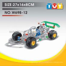 DIY металл гоночный автомобиль игрушка для детей