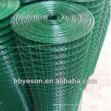 Pvc revestido de malla de alambre soldado fábrica