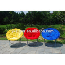 Folding Metal Moon Chair For Adult And Children