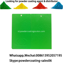 Epoxy Polyester Hybrid RAL Colors Powder Coating