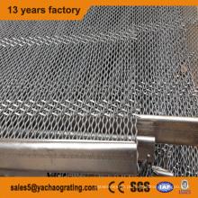 Malha de arame ondulada de aço inoxidável para filtro