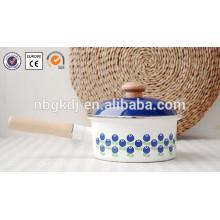 Potenciômetro interno do esmalte branco puro do decalque do revestimento 0.8L para o fogão de arroz