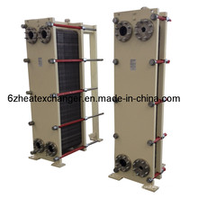 Intercambiador de calor de placas de alta calidad para calefacción y refrigeración general (igual a M6 / M10)