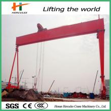 Single Girder Gantry Crane for Sell