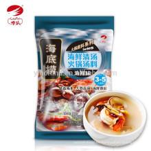 Mariscos sabor Sopa de hongos Hot Pot condimento haidilao marca