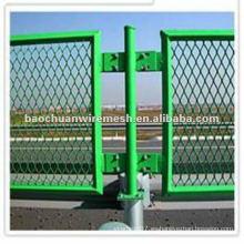 Acero inoxidable anti-corrosión caliente venta deslumbramiento malla de seguridad vial