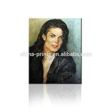 Wallpapers Michael Jackson Pintura al óleo para Dropship