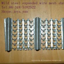 Streckbleche aus weichem Stahl