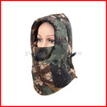 Camo Thermal Fleece Balaclava Winter Ski Neck Hoods Full Face Mask Cover Cap
