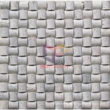 Arch Shape Travertine Mosaic (CFS903)
