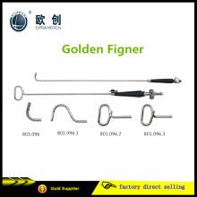 Laparoskopischer Goldener Finger Leber Retractor