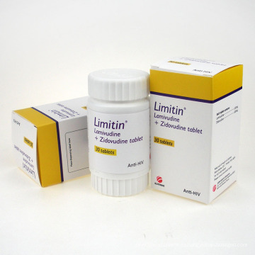 Anti-VIH Lamivudina 3tc y Zidovudinum Tablet