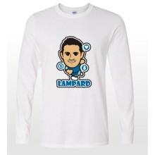 New design 2014-15 season EPL club team ChelseaLampard  soccer fan cartoon long t-shirts
