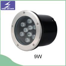 9W unterirdische LED begrabenes Licht