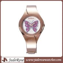 Mais esperto e mais novo impermeável liga pulseira relógio para senhora