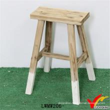 Vintage Handmade Decorative Solid Wood Stool