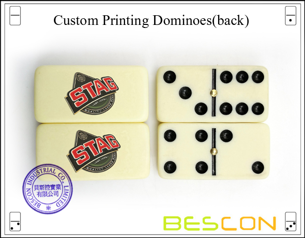 Custom Printing Dominoes(back)
