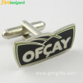 Fashion Design Metal Cufflink With Own Logo