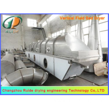 Fluid bed dryer for borax