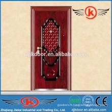 JK-S9203 nouvelle conception porte d'entrée en fer simple