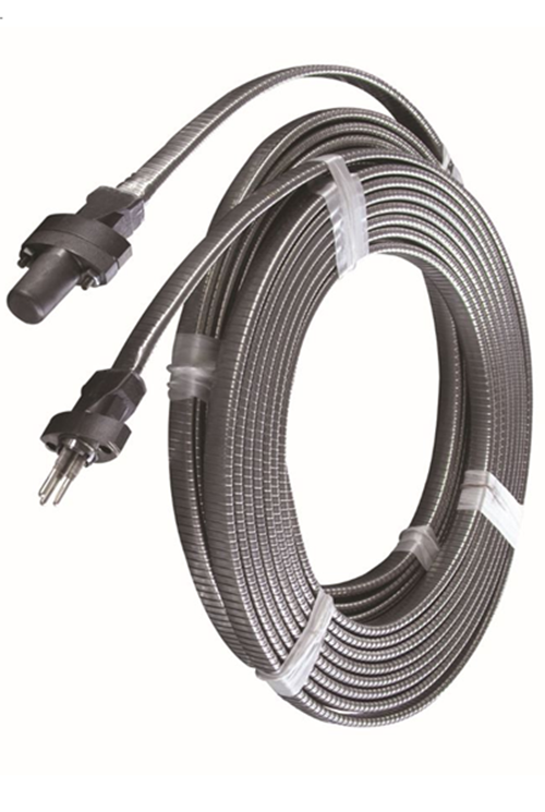 Winding galvanized steel cable